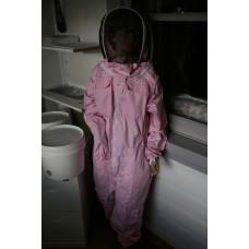 Full bee suit pink